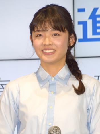 『2016年春「進研ゼミ+」』スタート記念イベントに出席した古畑星夏 (C)ORICON NewS inc.