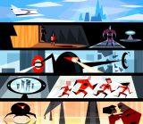 ルー・ロマーノ【カラースクリプト】『Mr.インクレディブル』(2004年) デジタルペインティング(C) Disney/Pixar