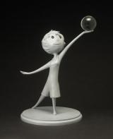 ジェローム・ランフト【ヨロコビ】『インサイド・ヘッド』(2015年)ウレタン樹脂鋳造(C) Disney/Pixar
