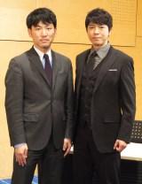 上川隆也(右)と巽周平弁護士 (C)ORICON NewS inc.