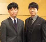 弁護士による「痴漢えん罪対策」の特別講習会に出席した上川隆也(右)と巽周平弁護士 (C)ORICON NewS inc.