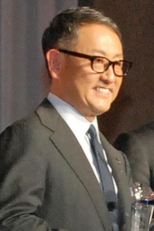 『社長が選ぶ 注目の会社 2016』1位に選ばれた、トヨタ自動車社長の豊田章男氏 (C)ORICON NewS inc.