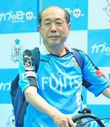 等々力競技場で行われたトークイベントに登壇した桐谷広人氏 (C)oricon ME inc.
