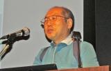 日経マネーの30周年記念イベントで自身の「大損経験」を語る桐谷広人氏