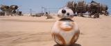 全速力で走るBB-8(C)2015 Lucasfilm Ltd. & TM. All Rights Reserved