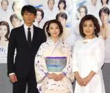 (左から)吉田栄作、田中麗奈、秋吉久美子 (C)ORICON NewS inc.