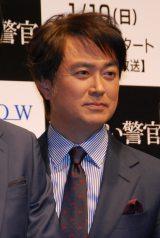 WOWOW『連続ドラマW 撃てない警官』完成披露試写会に登場した石黒賢 (C)ORICON NewS inc.