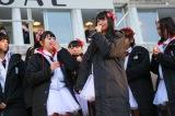メンバーも涙…『繋げ!AKB48劇場の魂を!NGT48今村の東京→新潟 日本縦断354km行脚!』プロジェクト(C)AKS