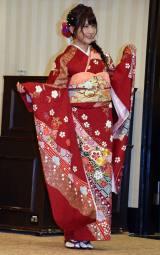 「AKB48グループ成人式記念撮影会」に参加したAKB48の入山杏奈 (C)ORICON NewS inc.