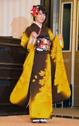 「AKB48グループ成人式記念撮影会」に参加したAKB48の竹内美宥 (C)ORICON NewS inc.