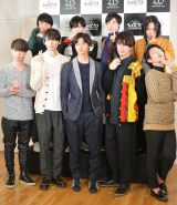 映画『ライチ☆光クラブ』公開収録イベントに登壇したキャスト陣 (C)ORICON NewS inc.