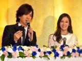 幸せいっぱい!DAIGO&北川景子夫妻が結婚会見 (C)ORICON NewS inc.
