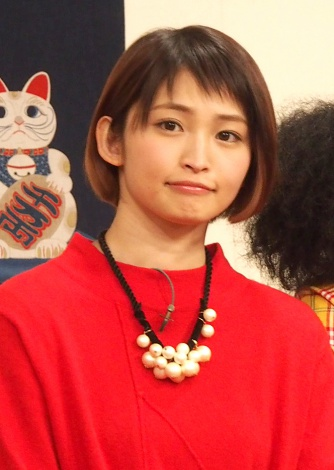 NHK『七人のコント侍』第12期メンバーのお披露目取材会に出席した岡本玲 (C)ORICON NewS inc.