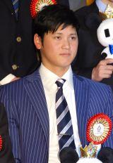 『第50回 ビッグスポーツ賞』表彰式に出席した大谷翔平 (C)ORICON NewS inc.