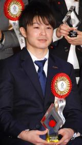 『第50回 ビッグスポーツ賞』表彰式に出席した内村航平 (C)ORICON NewS inc.