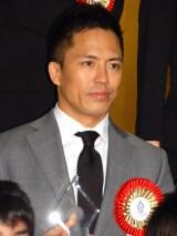 『第50回 ビッグスポーツ賞』表彰式に出席した野村忠宏 (C)ORICON NewS inc.