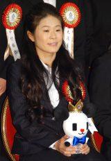 『第50回 ビッグスポーツ賞』表彰式に出席した澤穂希 (C)ORICON NewS inc.