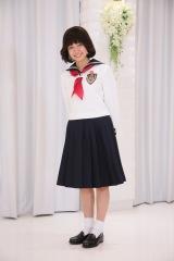 日本テレビ『ぐるぐるナインティナイン』(毎週木曜 後7:56)の人気企画『グルメチキンレース ゴチになります17』で制服姿を初披露した二階堂ふみ (C)日本テレビ