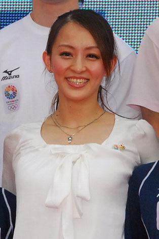フジテレビで放送する『世界体操2013』の番組スペシャルナビゲーターを務める元体操女子日本代表の田中理恵氏。