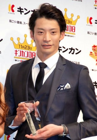 『キンカン AWARD 2014』授賞式に出席した入江陵介 (C)ORICON NewS inc.