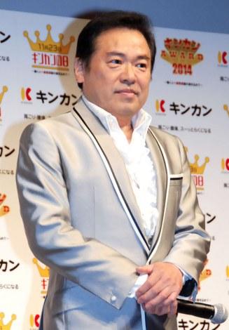 『キンカン AWARD 2014』授賞式に出席したグッチ裕三 (C)ORICON NewS inc.