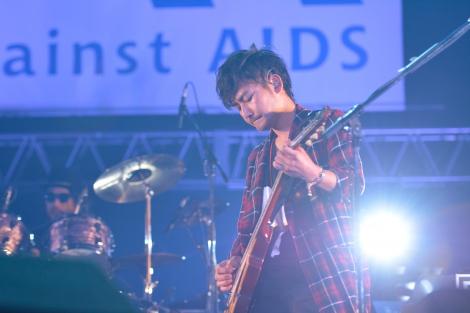 新藤晴一(ポルノグラフィティ)=エイズ啓発チャリティーイベント『Act Against AIDS 2015「THE VARIETY 23」』