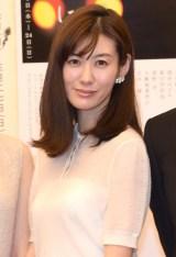 演劇公演『鄭義信 三部作』の合同制作発表会見に出席したともさかりえ (C)ORICON NewS inc.