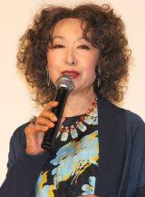 映画『俳優 亀岡拓次』完成披露試写会に登壇した三田佳子 (C)ORICON NewS inc.