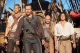 米ドラマ『Black Sails/ブラック・セイルズ』HuluとdTVが初めて共同で独占配信(C)2014 Starz Entertainment,LLC