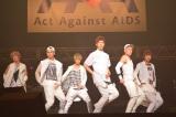 『Act Against AIDS 2013』に出席したCROSS GENE