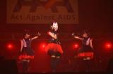『Act Against AIDS 2013』に出席したBABYMETAL