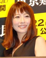 映画『東京難民』完成披露舞台あいさつに登壇した大塚千弘 (C)ORICON NewS inc.