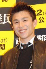 映画『東京難民』完成披露舞台あいさつに登壇した中尾明慶 (C)ORICON NewS inc.