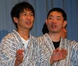 映画『田沼旅館の奇跡』初日舞台あいさつを行ったキングオブコメディ