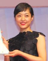 『第27回 日本ジュエリー ベストドレッサー賞』を受賞した井上真央 (C)ORICON NewS inc.
