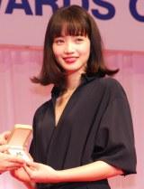 『第27回 日本ジュエリー ベストドレッサー賞』を受賞した小松菜奈 (C)ORICON NewS inc.