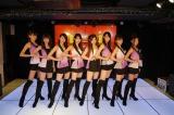 モデル志望の女子を中心に集まった美脚が魅力の「原宿乙女」。原宿駅前パーティーズの劇場ライブ映像を1月29日よりHuluで配信