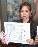 『第5回TBS連ドラ・シナリオ大賞』佳作に選ばれた『ゲス会の女王』著者・井本智恵子さん (C)ORICON NewS inc.