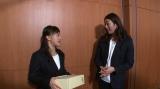 ロンドン五輪メダリストの寺川綾が1月23日放送のテレビ朝日系『TOKYO応援宣言』にゲストキャスターとして生出演。レスリング・登坂絵莉選手への直撃取材VTRも放送(C)テレビ朝日