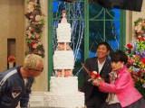 2月11日放送、テレビ朝日系『徹子の部屋 祝40周年 最強夢トークスペシャル』に明石家さんま、所ジョージが出演。『徹子の部屋』は25年ぶり (C)ORICON NewS inc.