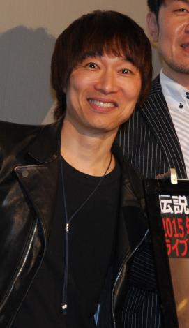 ライブDVD『〜Back to 1988.11.26〜2015.9.20 Live at SHIBUKOU』一夜限定上映会イベントに出席した宮田和弥 (C)ORICON NewS inc.