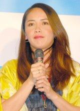 『奄美大島DMO事業構想発表会』に出席した元ちとせ (C)ORICON NewS inc.