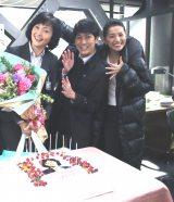 (左から)南果歩、平岡祐太、芦名星(C)テレビ朝日