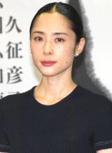舞台『ETERNAL CHIKAMATSU』制作発表会見に出席した深津絵里 (C)ORICON NewS inc.