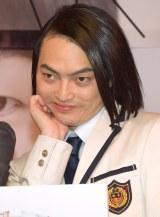 最新プリントシール機『HIKARI』お披露目会見に出席したピスタチオ・小澤慎一朗 (C)ORICON NewS inc.
