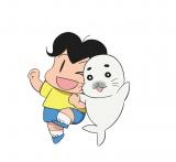 """あのアザラシの""""ゴマちゃん""""がこの春、天てれアニメで復活。『少年アシベ GO!GO!ゴマちゃん』4月5日スタート(C)森下裕美・OOP/Team Goma"""