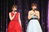 AKB48の永尾まりや(左)と高城亜樹の合同卒業コンサートを開催(C)AKS
