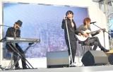 応援ソング「駆け抜ける愛のうた〜はじまりのday by day〜」を初披露 (C)ORICON NewS inc.