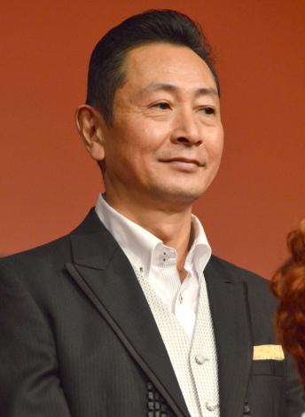 ミュージカル『アニー』制作発表会に出席した三田村邦彦