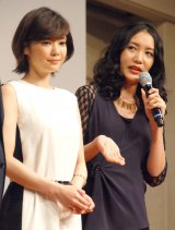 舞台『ライ王のテラス』製作発表会に出席した(左から)倉科カナ、中村中 (C)ORICON NewS inc.